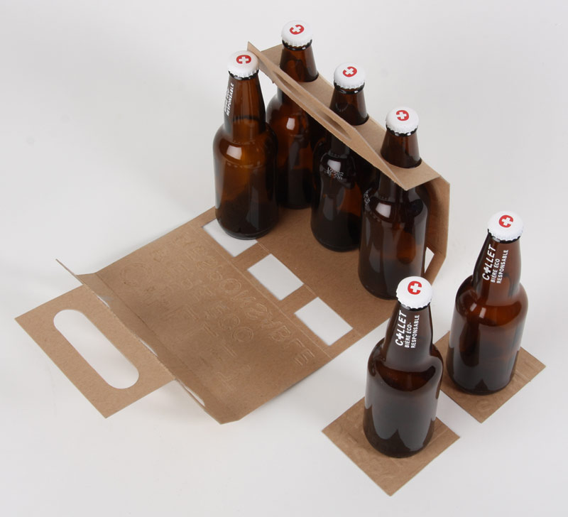 Armando roque dise o gr fico fotograf a empaque for 6 pack beer carrier template