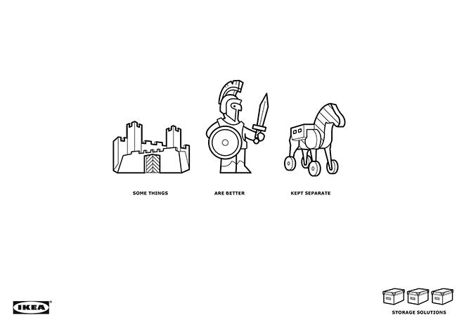 IKEA Caballo de Troya