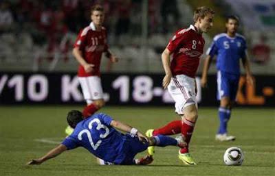 Cyprus 1 - 4 Denmark