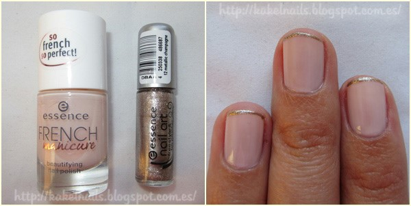 French manicure essence