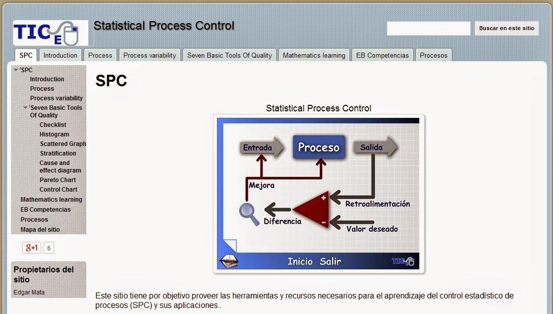 SPC Web Page