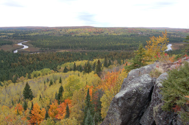 poplar river superior hiking trail lutsen