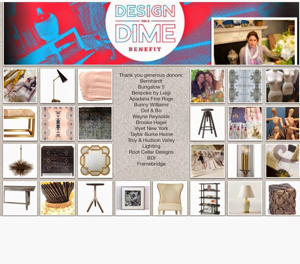 April 23rd gala Design On A Dime is weeks away, thanks to my sponsors