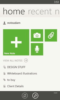 Evernote for Windows Phone updated to v3.0 with Redesigned Home screen, Shortcuts, Better Tags Lists and more
