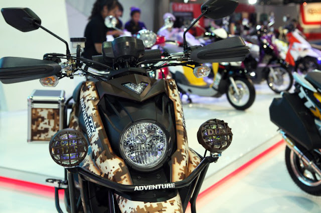 Yamaha TTX 115i Adventure Scooter Concept | Yamaha Motor Thailand