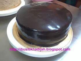 Double Indulgence Chocolate Cake