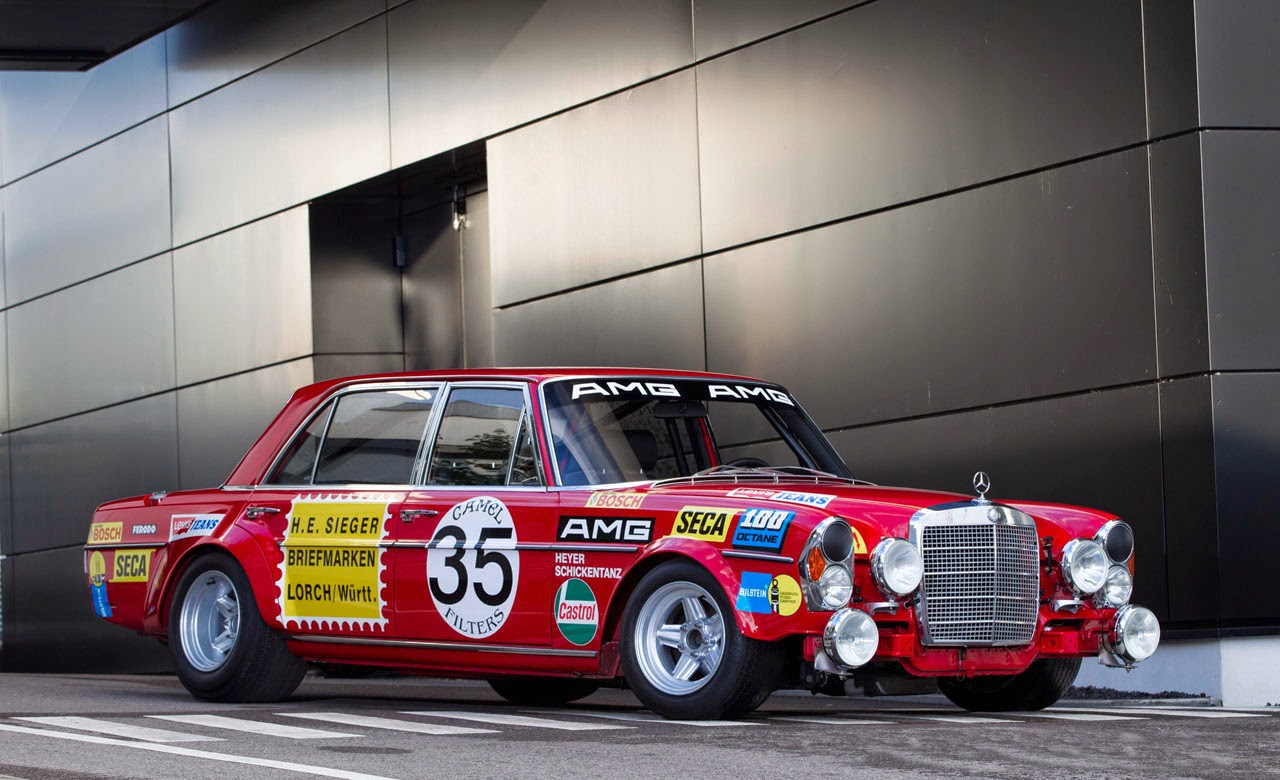FAB WHEELS DIGEST (F.W.D.): 1971 Mercedes-Benz AMG 300SEL 6.3 Race ...