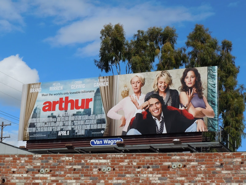 Arthur film billboard