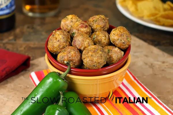 http://www.theslowroasteditalian.com/2013/01/skinny-jalapeno-popper-meatballs.html