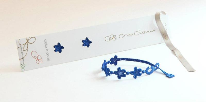 packaging braccialetti cruciani stella marina