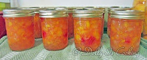 Peach Banana Cherry Jam