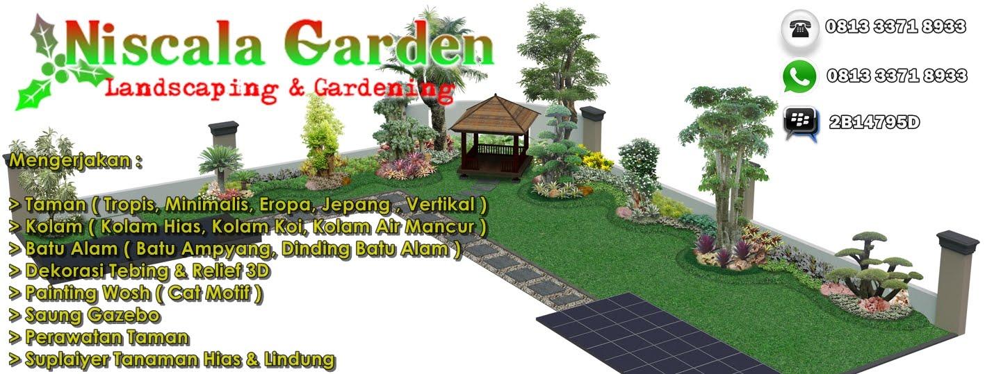 NISCALA GARDEN | Tukang Taman Surabaya | Sidoarjo | Gresik | Bojonegoro