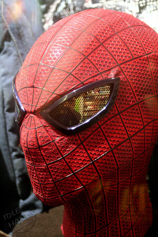 Idle Hands A Closer Look At The Amazing Spider Man S Gear
