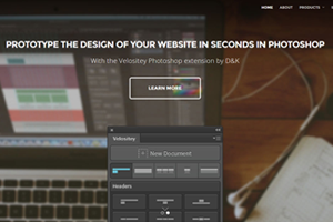 Prototype the design of your website in seconds in Photoshop