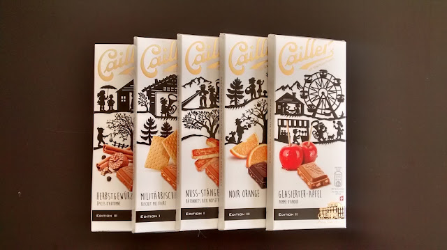 Cailler - szwajcarska czekolada, zimowa edycja