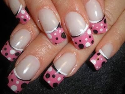 Manicure para las uñas de las manos-lindas uñas decoradas