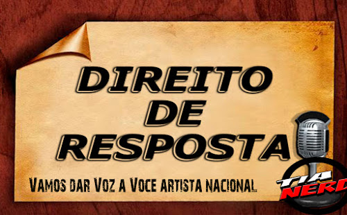Polêmica - Direito de Resposta aos Artistas Nacionais (HQs)