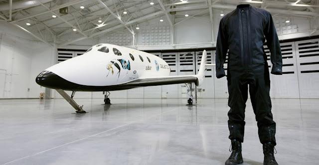 Virgin Galactic's designer spacesuit. Credit: Virgin Galactic