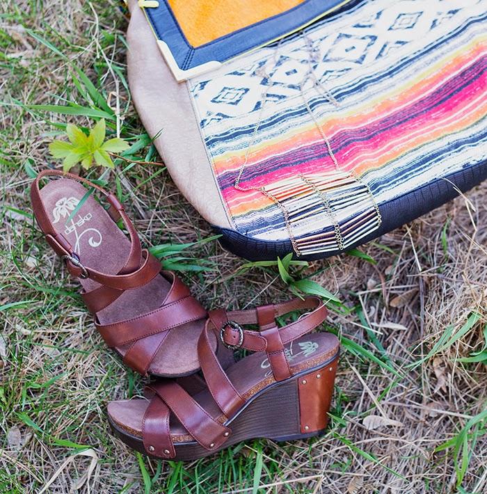 leopard-maxi-skirt-tribal-purse-wedge-sandals