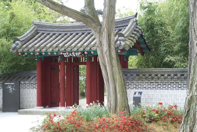 entrée jardin coréen