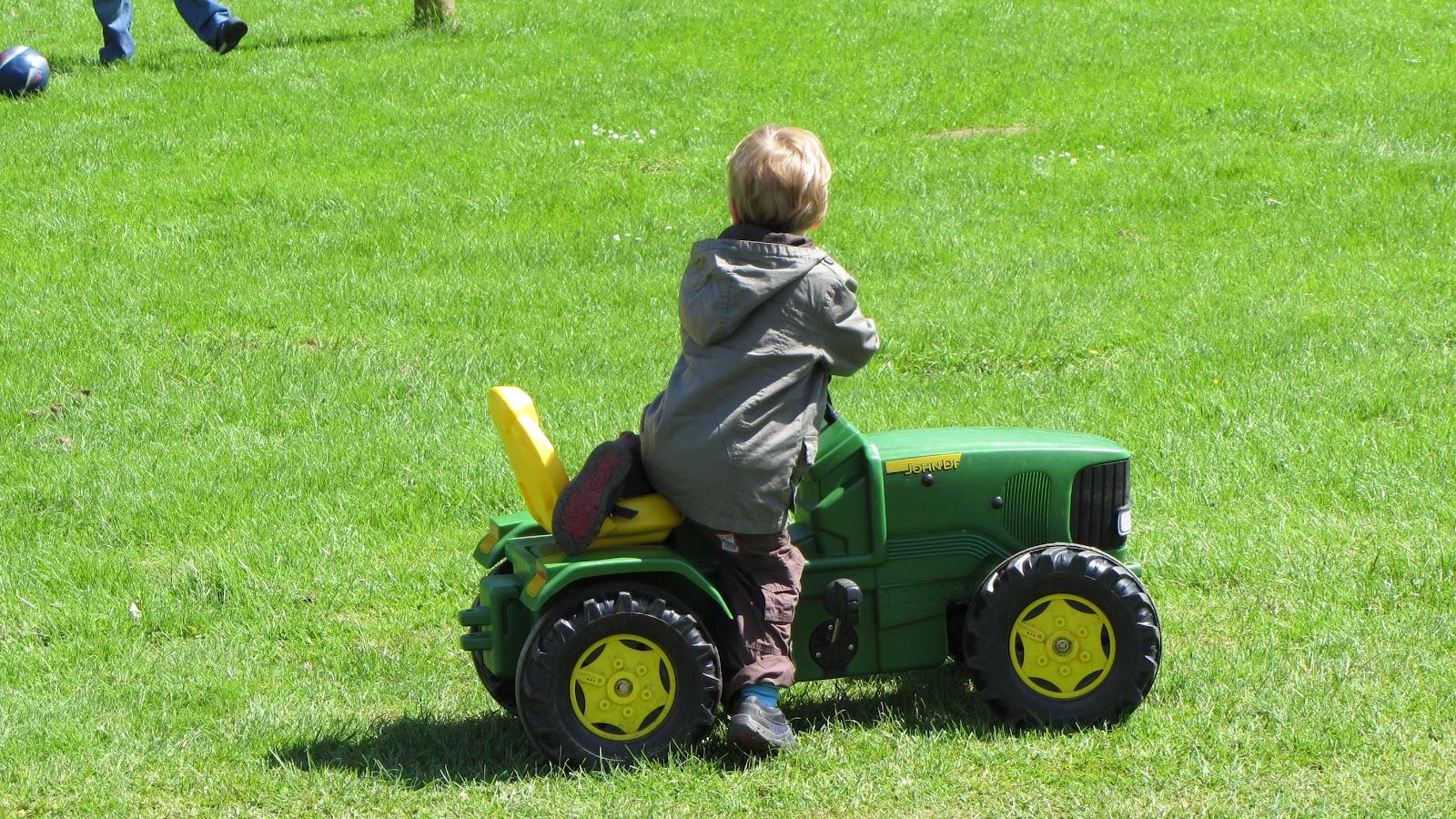 Boy On Tractor : Ben watts tractor boy