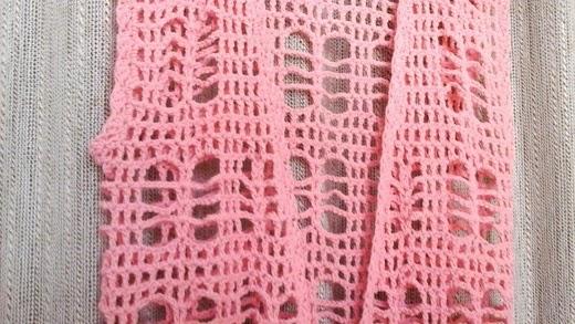 tejido a crochet de Mar del Plata