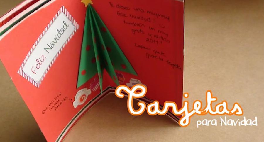Tarjetas navidad en 3d - Como hacer una tarjeta de navidad original ...