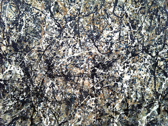 surfin estate blog surf culture mode trend music art moma new york museum of modern art Jackson Pollock - One : Number 31, 1950