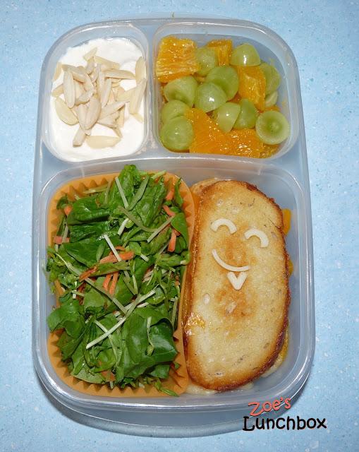 salad sandwich bento