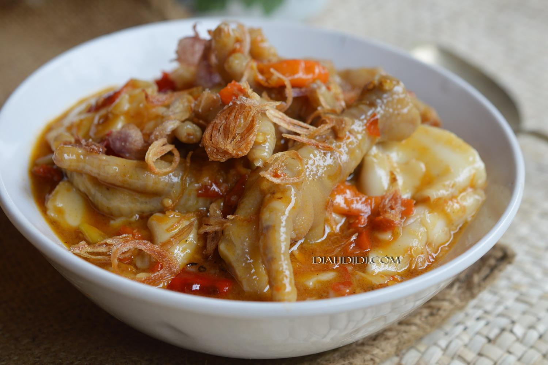 Diah Didi S Kitchen Seblak Ceker Super Pedasss