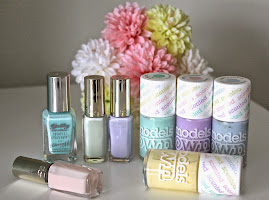 """Step Into """"Spring"""" With A Few Of My Favourite Pastel Polishes."""