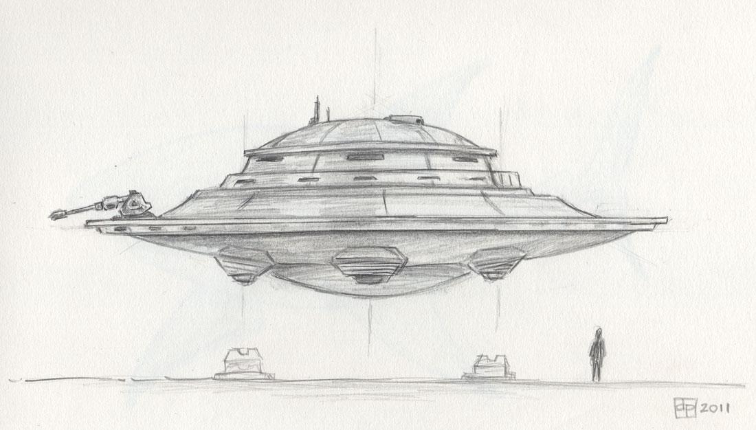 Dessin Soucoupe Volante le blogue des 100 dessins: soucoupe volante