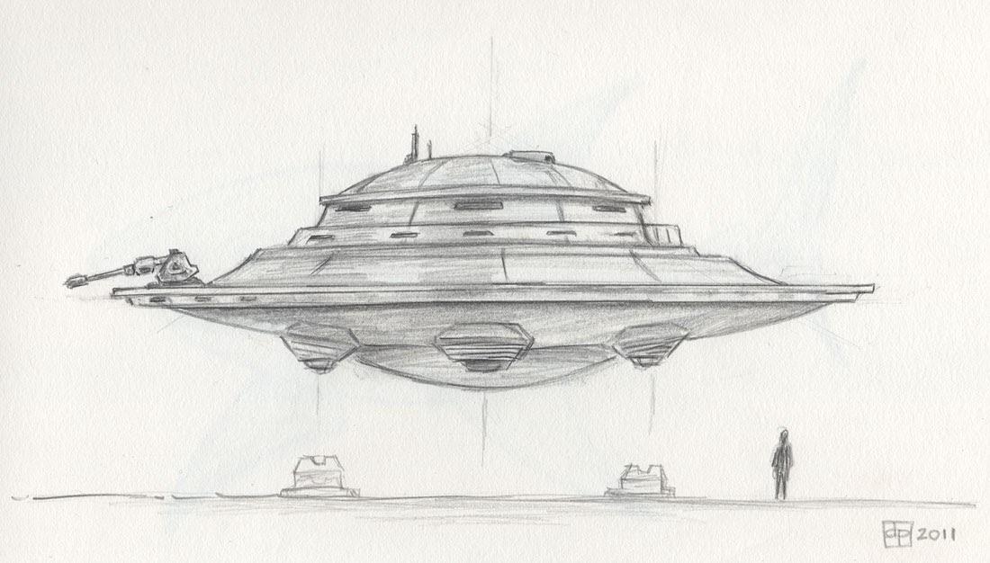 Le blogue des 100 dessins soucoupe volante - Soucoupe volante dessin ...