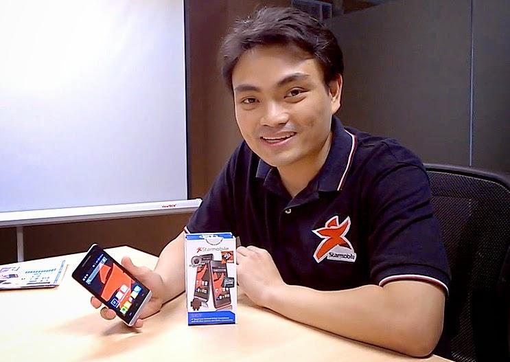 Starmobile Sky, Elijah Mendoza, Starmobile, Happy Man Philippines, Starmobile Quad Core KitKat Android Smartphone