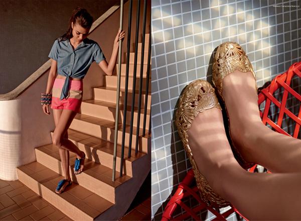 Melissa verão 2016 coleção Wanna Be Carioca sandália com barbicachos e sapatilha barroca verão 2016