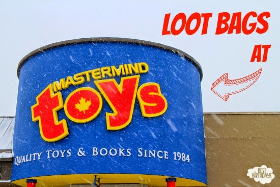 Loot Bags at Mastermind Toys  |  Best Birthdays
