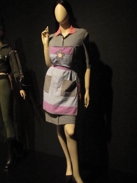 Gaultier's maid dress for Almodovar's film