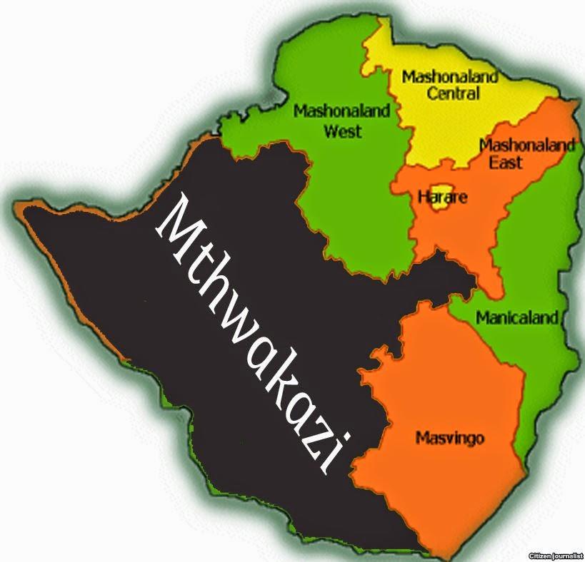 Zimbabwe Ethnic Map - Republic of zimbabwe map
