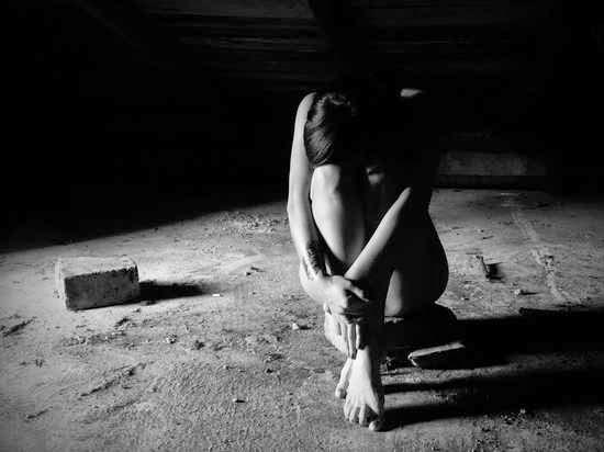Estar sola en la oscuridad