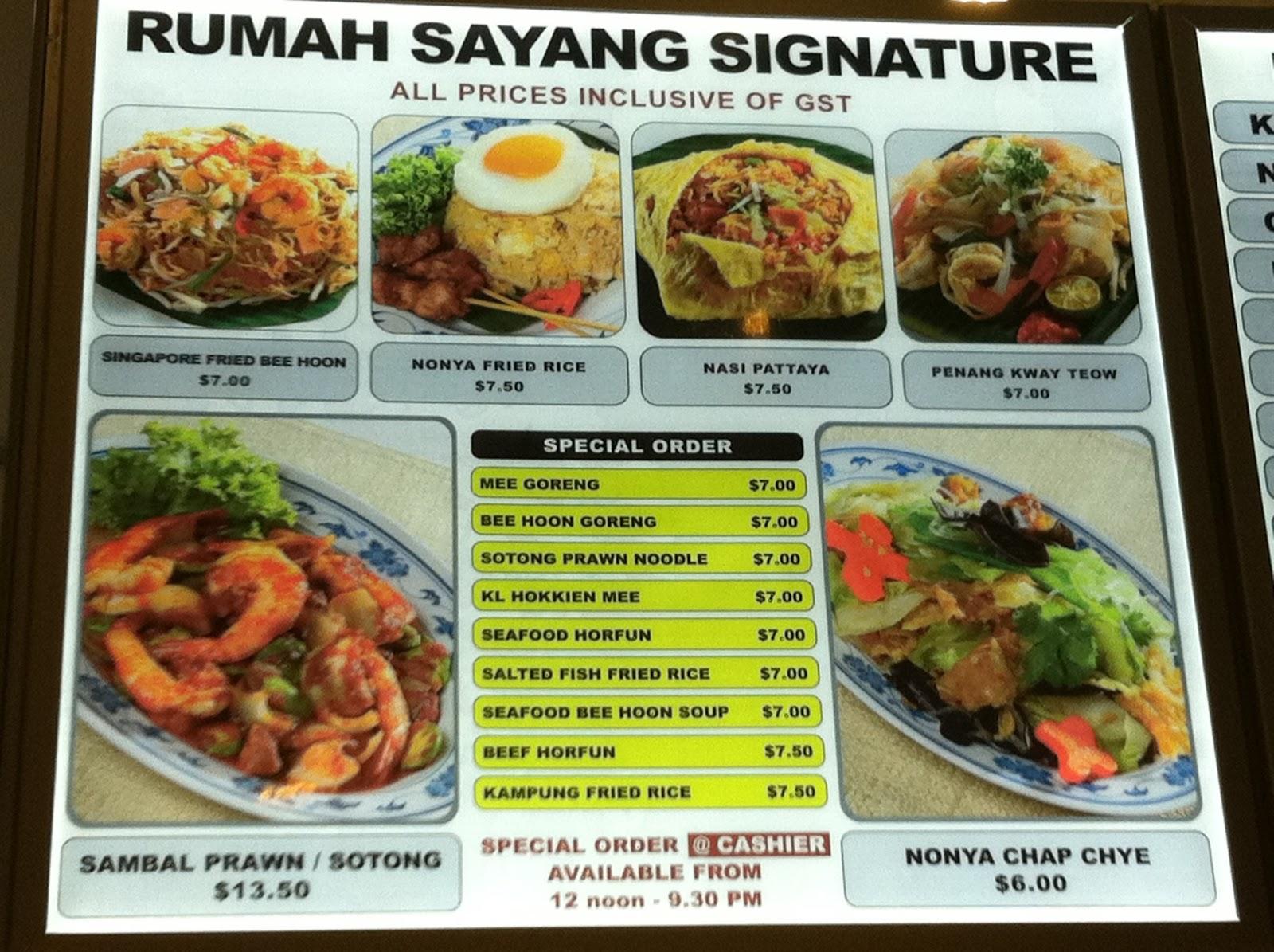 Street food warms your heart rumah sayang at jem the for Jordan s fish and chicken menu