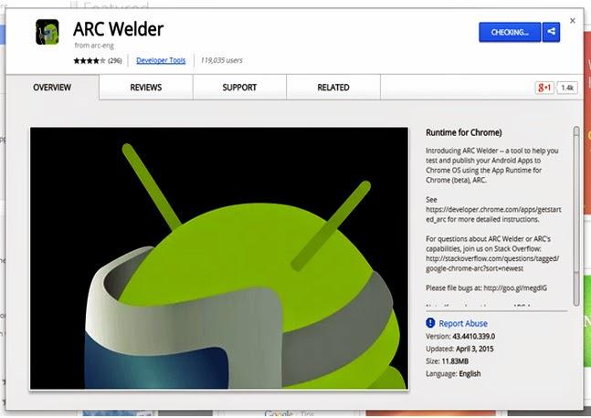 ARC Welder Membolehkan Anda Menjalankan Aplikasi Android Pada Windows Mac OS X dan Linux