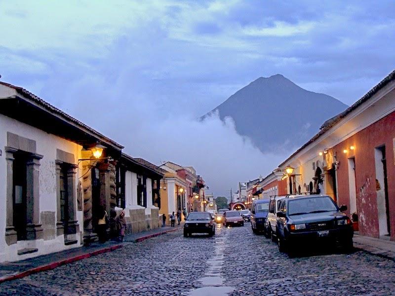 Vista desde La Antigua, Guatemala