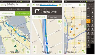 best navigation app for android mapquest