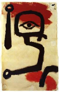 Paul Klee painting - Paukenspiele