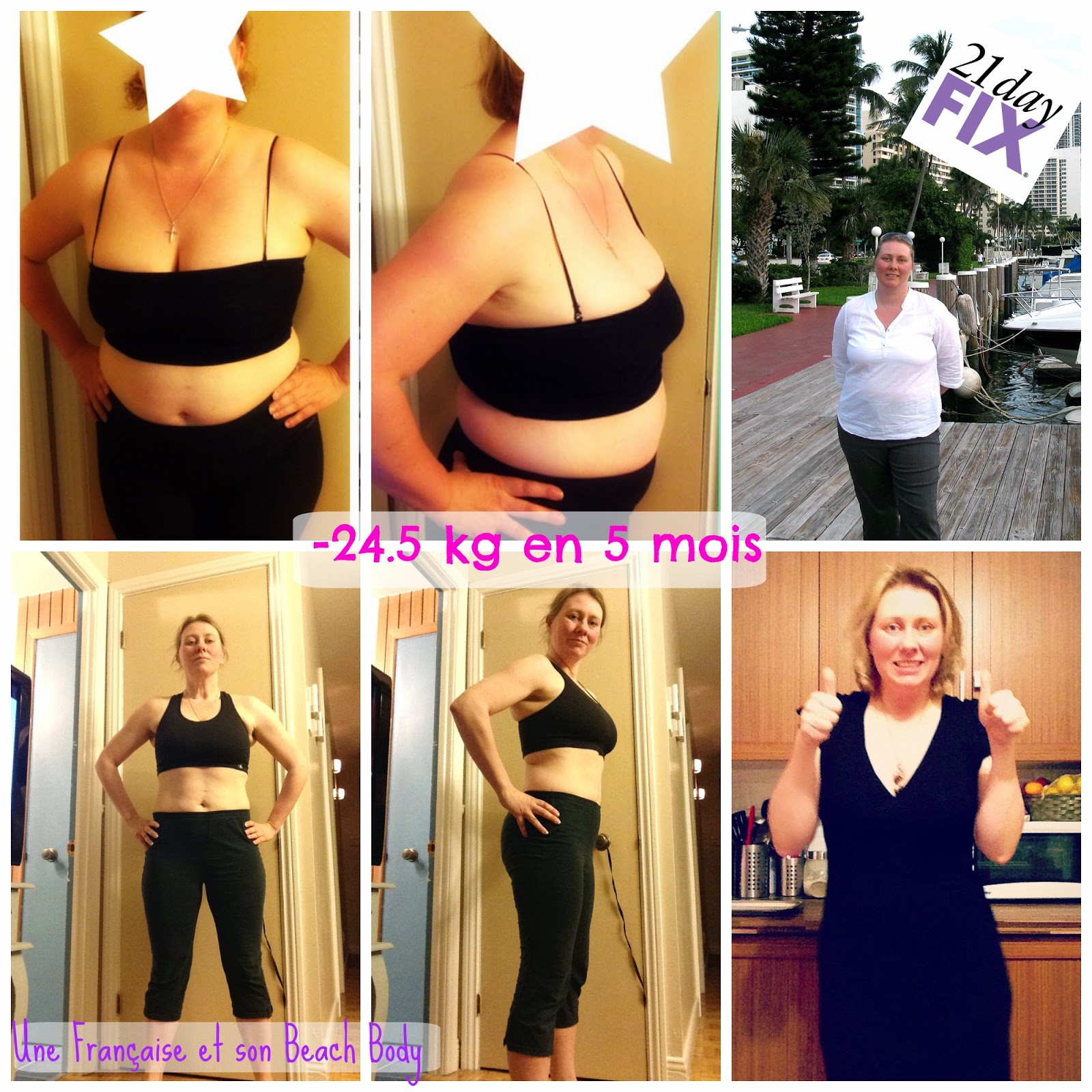 Résultats 21 Day Fix
