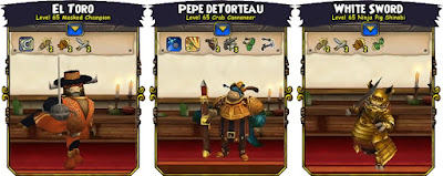 Pirate101 Test Realm Companions