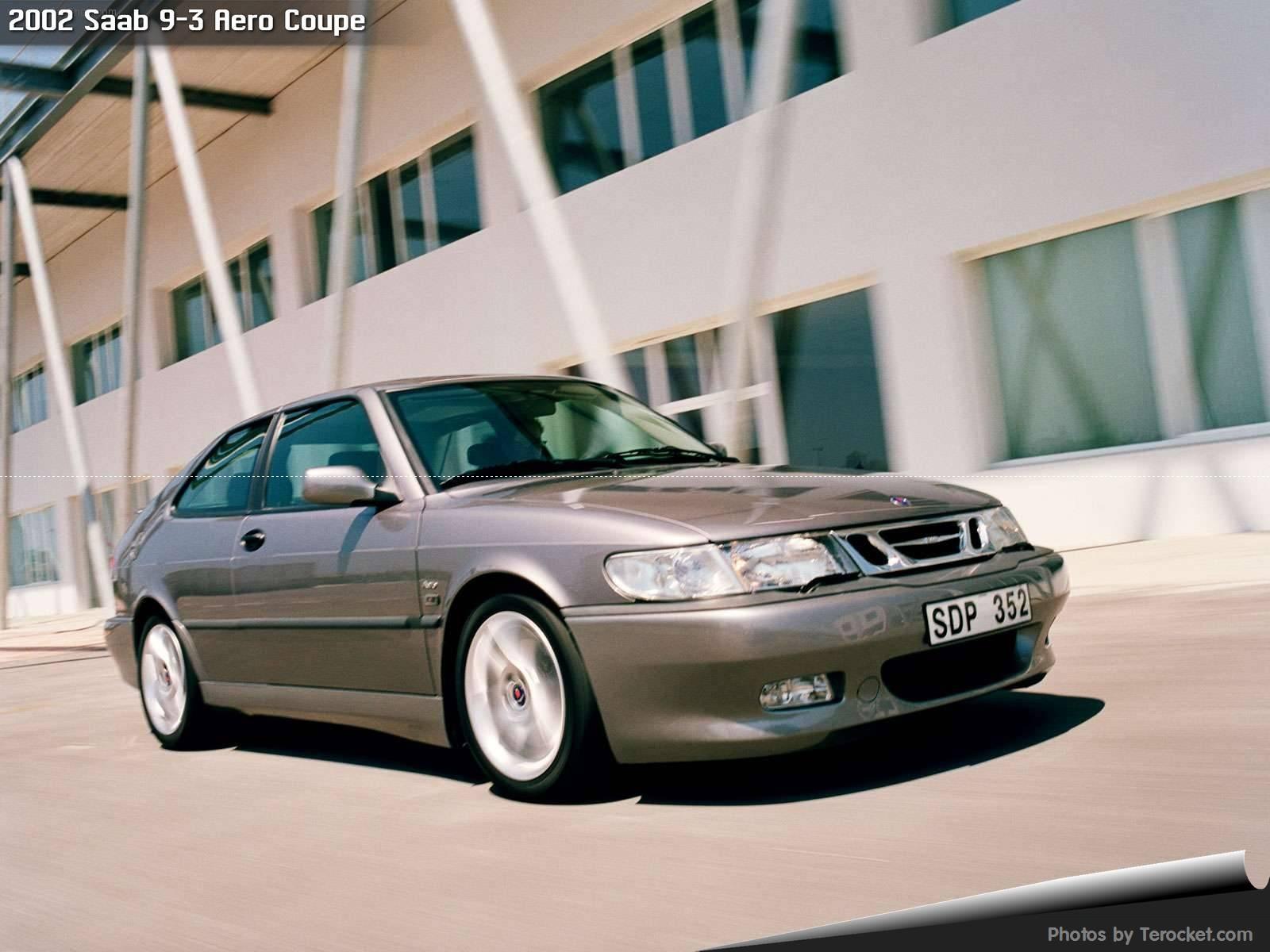 Hình ảnh xe ô tô Saab 9-3 Aero Coupe 2002 & nội ngoại thất