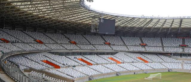 Estádio do Mineirão após obras de modernização