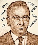 Letras Galegas 2014 - Xosé María Díaz Castro