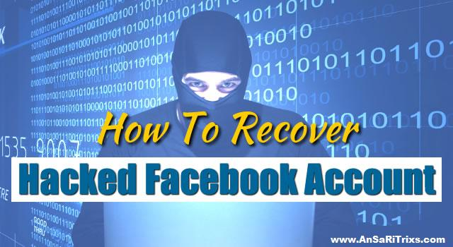 How to recover hacked Facebook account